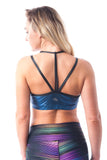 Strappy Back Bralette - Disco Vogue - KDW Apparel