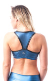 Wunda Woman Bralette - Electric Blue - KDW Apparel