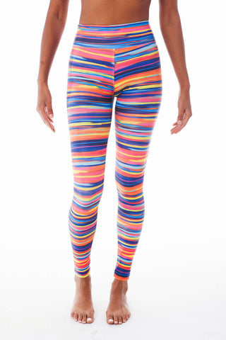Malibu Barbie Stripes Pilates Long