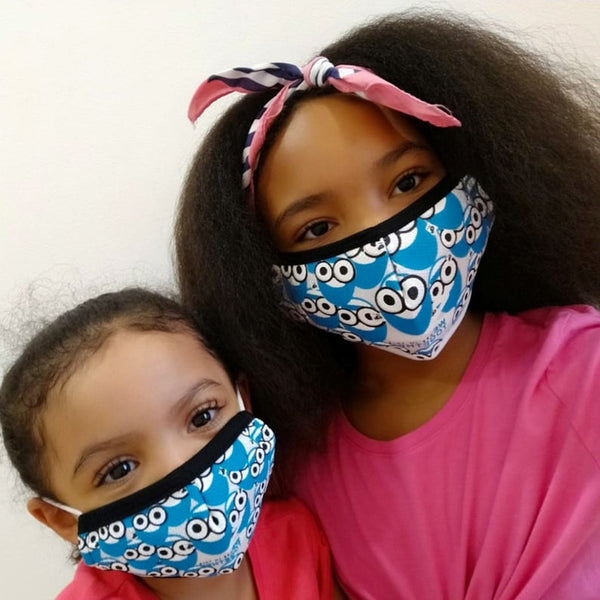 SMILE WE'RE IN THIS TOGETHER FACE MASKS 3 PACK