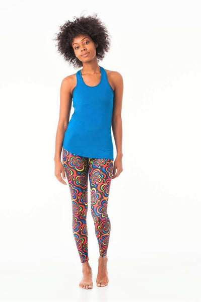 Flower Child Pilates Long - KDW Apparel