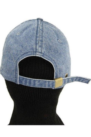 Denim 90s Wash Cap