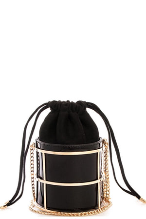Princess Bucket Crossbody