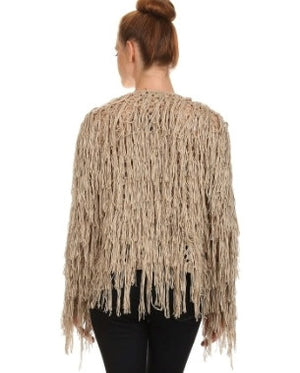 Get Fringy Sweater