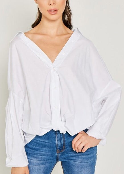 BF Oversized Button Up