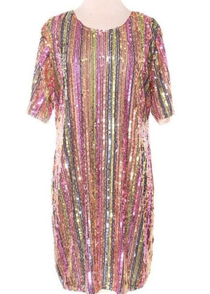 LOVEHAPPY Sequins Dress