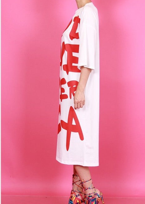 God Save Us Midi Dress