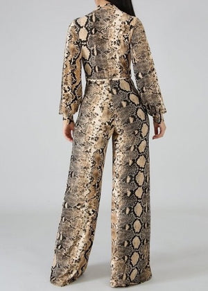 All You Do is Snake Jumpsuit