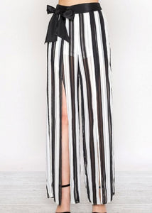 Split Zebra Pants