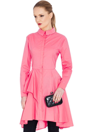 Peplum Shirtdress Top