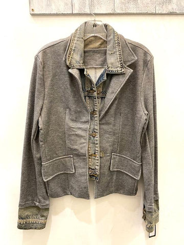 My Best Jacket Heather Grey
