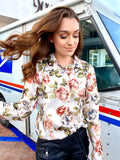 Tea Party White Blouse