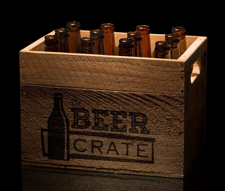 Crate of 12 craft beers