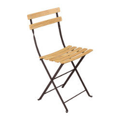 "Fermob ""Bistro"" Folding Chair Natural"