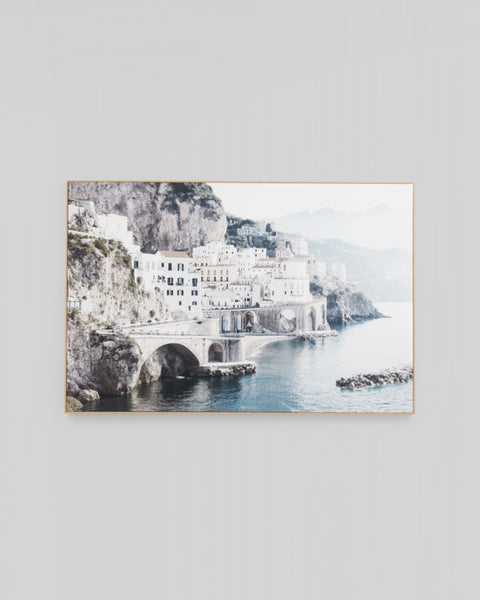 Italian Morning Framed Canvas