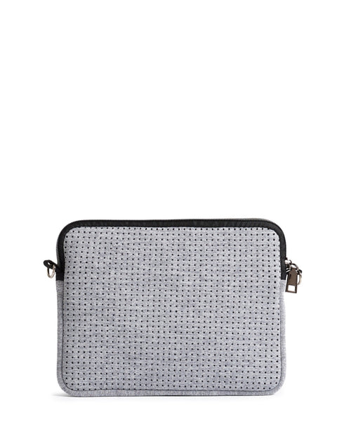 The Pixie Bag - Light Grey Marle by Prene
