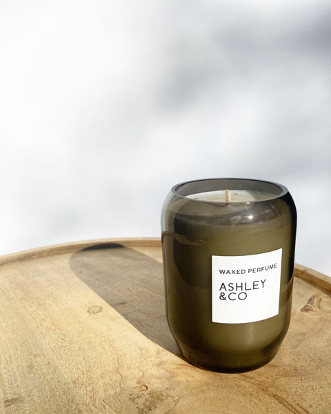 Waxed Candles - Ashley & Co.