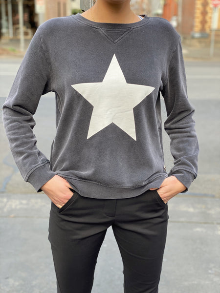 Star Sweat Charcoal