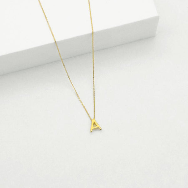 Letter Necklace by Linda Tahija
