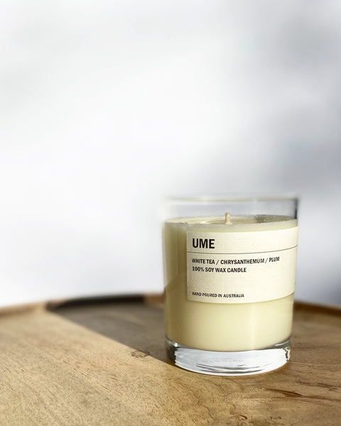 Posie Clear Candle