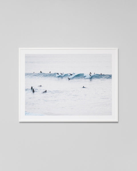Sunset Surfers Print
