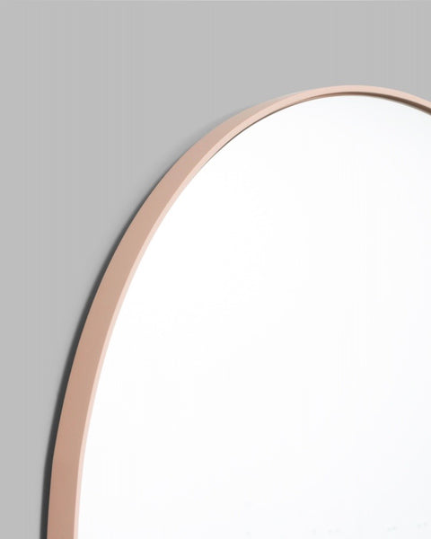 Bjorn Round Mirror - Powder