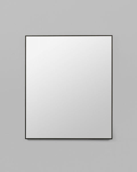Flynn Rectangle Mirror, Black (100cm x 120cm)