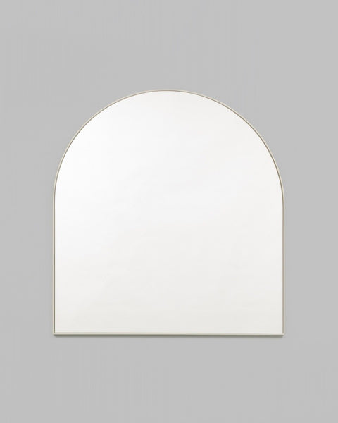 Bjorn Arch Mirror - 80cm x 85cm - Powder