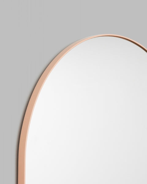 Bjorn Arch Floor Mirror - 80cm x 180cm - Powder