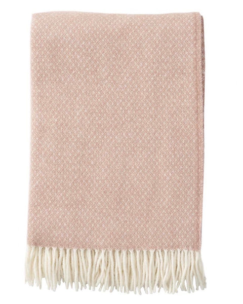 Klippan Flow Throw Blanket Nude