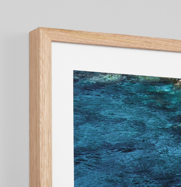 Azure Waters Print