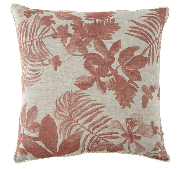 Palms Clay Cushion by Bonnie and Neil