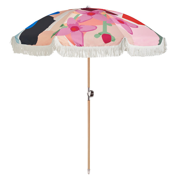 Beach Umbrella - Wildflower