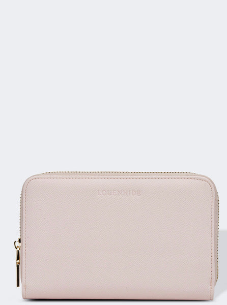Lizzie Jewellery Case - Pale Pink