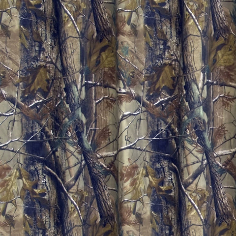 Realtree All Purpose Towel And Shower Curtain Set