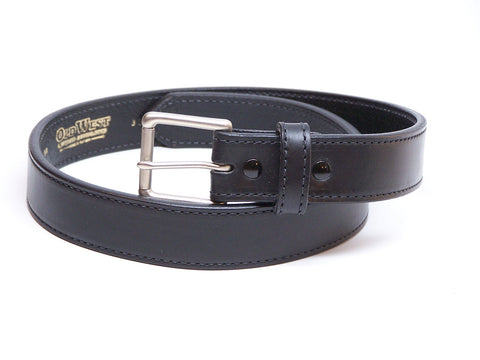 Concealed Carry CCW Belt, Heavy Duty Leather - Made in USA (Brown, Black, Wildlife Print)