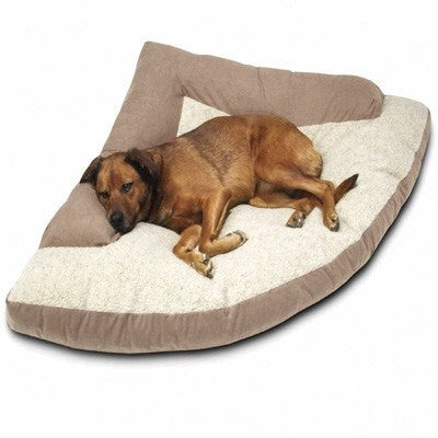Camo Orthopedic Pet Bed (Corner Style) – Made in the USA