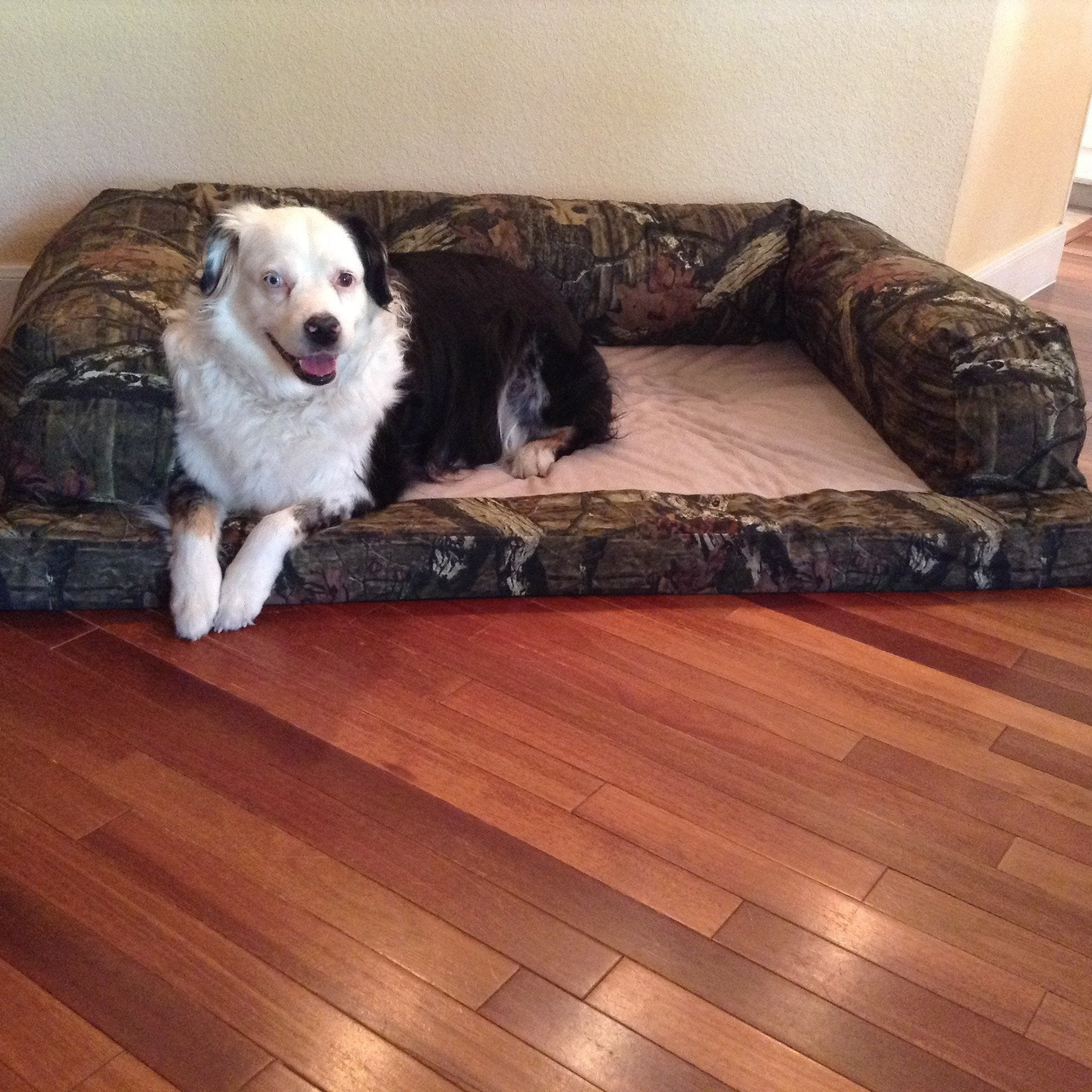 Camo Orthopedic Dog Bed Baxter Couch Made In Usa