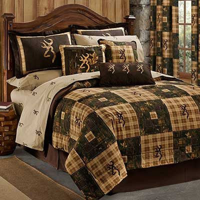 Browning Country Comforter Bedding Set in a bag - Twin, Full, Queen, King