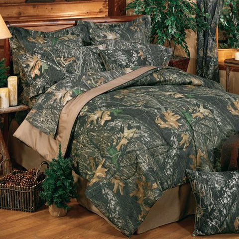 Mossy Oak Comforter Set New Break Up Pattern - Full, Queen and King