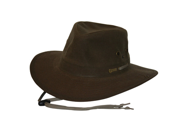 Outback Trading Oilskin River Guide Hat
