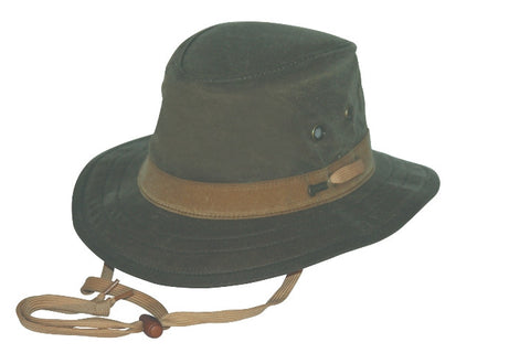 a17b4491905 Leather and Oilskin Hats By Outback Trading Company