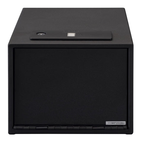 Stack-On Quick Access Handgun Safe with Biometric Lock
