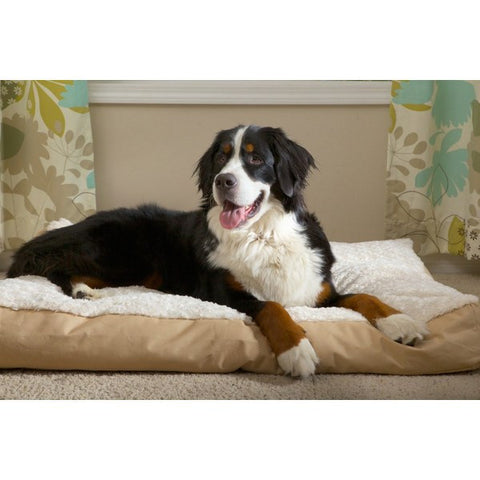 Furhaven X-Large Ultra-plush Deluxe Pillow Dog Bed