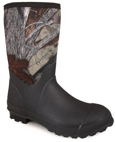 Smoky Mountain Men's Amphibian Round Toe Rubber Work Boots