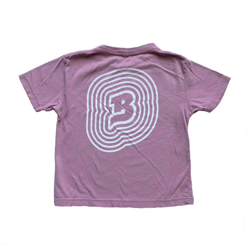 // Mauve Pigment Dyed Tee