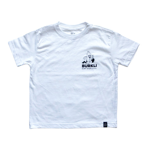 // White Surf Shop Tee