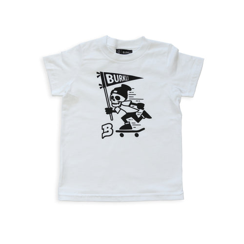 Skeleton Tee :: White