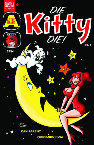 Die Kitty Die #2 Cover B by Dan Parent