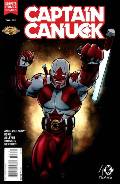 Captain Canuck #4 (London Comic Con 2015 Variant)